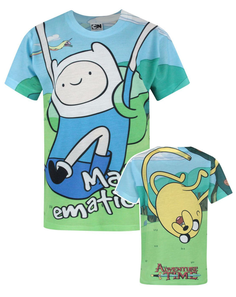 Adventure Time Jake And Finn Sublimation Boy's T-Shirt