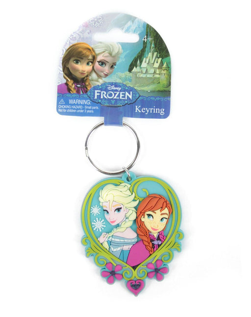 Disney Frozen Elsa And Anna Soft Touch Keychain