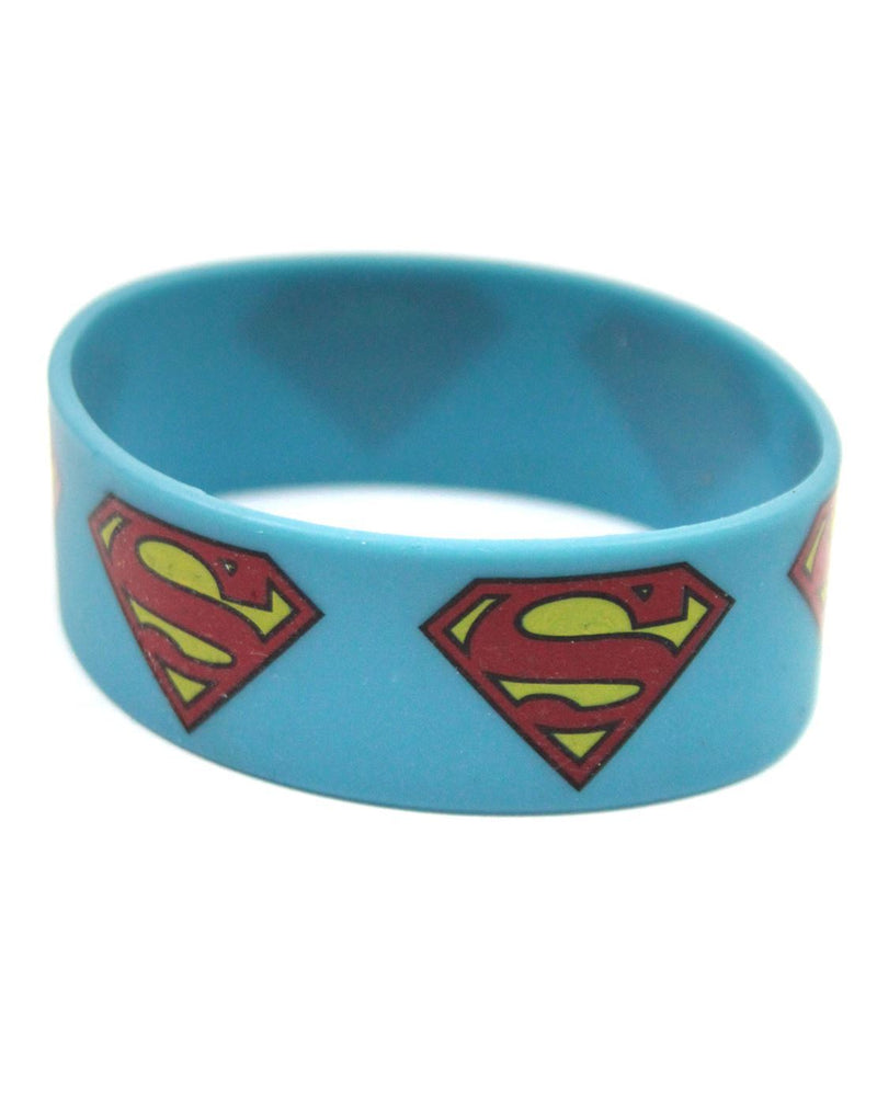 Superman Shield Logo Wristband