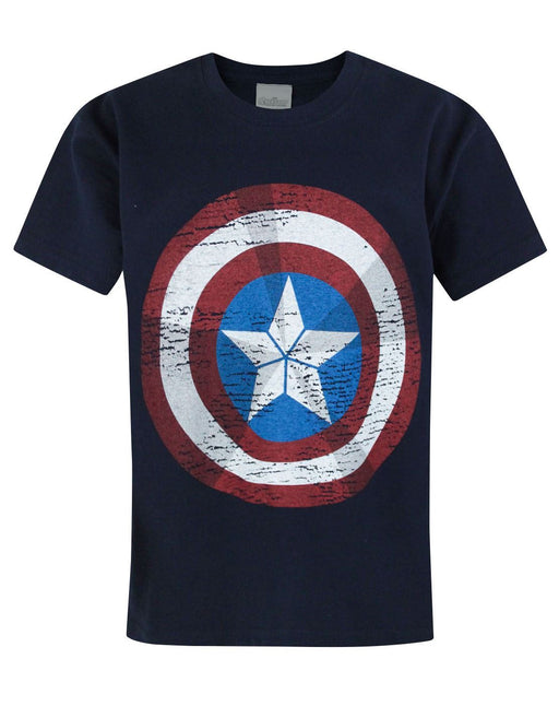 Avengers Age Of Ultron Captain America Shield Kid's T-Shirt