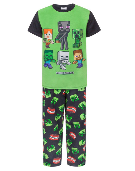 Minecraft Creeper TNT Boy's Pyjamas