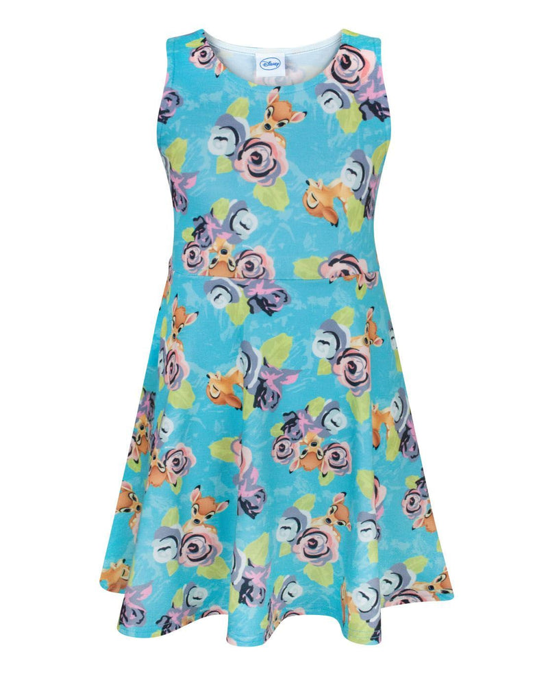 Disney Bambi Girl's Skater Dress