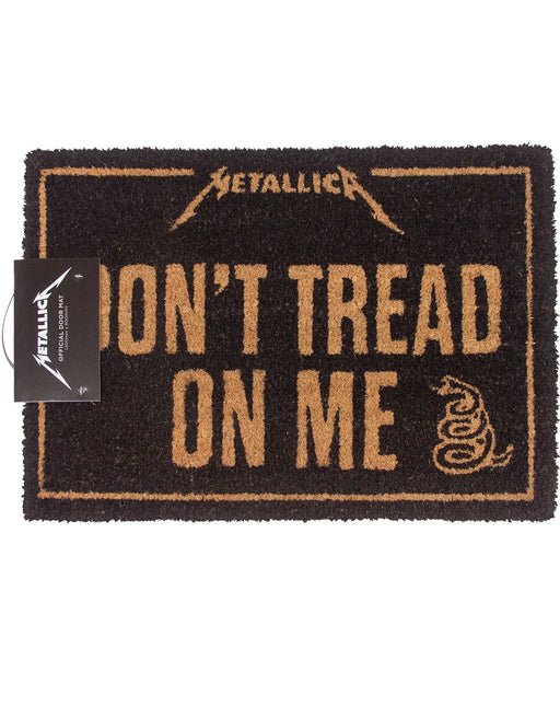 Metallica Don't Tread On Me Door Mat