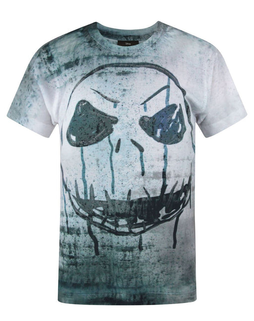 Nightmare Before Christmas Jack Skellington Face Sublimation Boy's T-Shirt