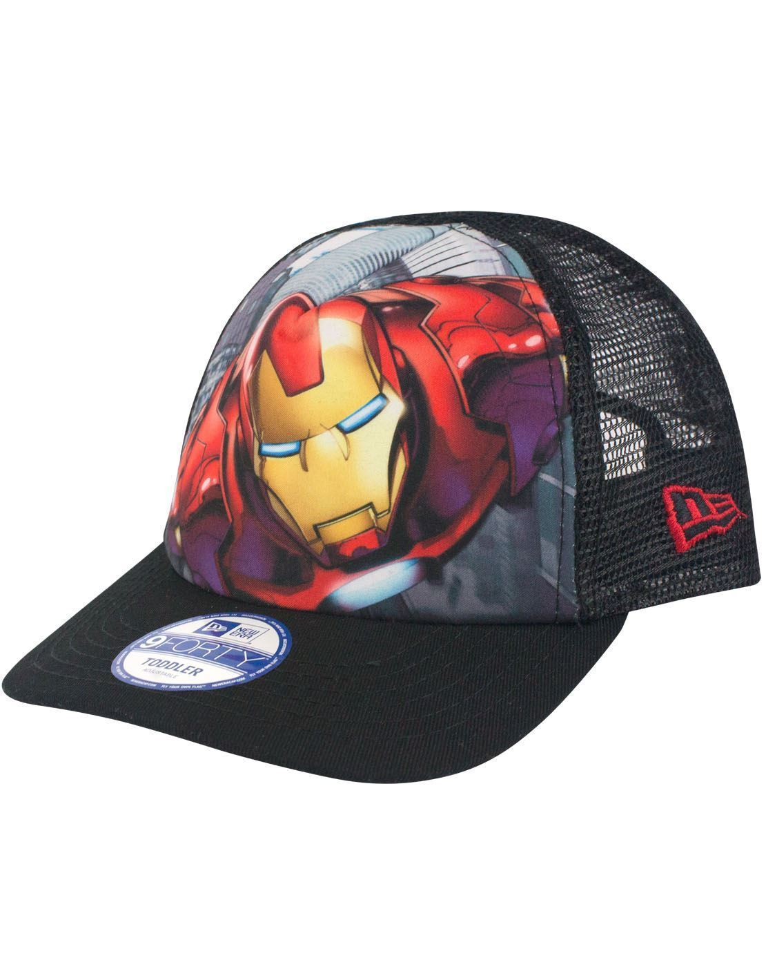 New Era 9Forty Iron Man Super Truck A Frame Kid s Trucker Cap – Vanilla  Underground fcb3f5194b10