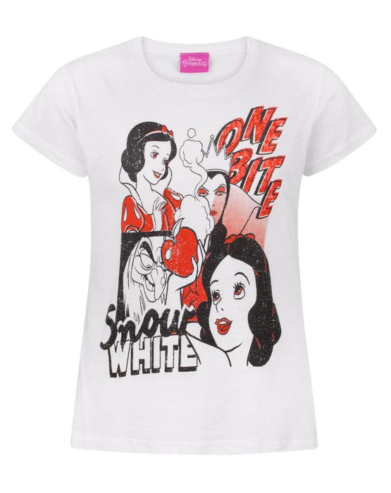 Disney Snow White One Bite Girl's T-Shirt