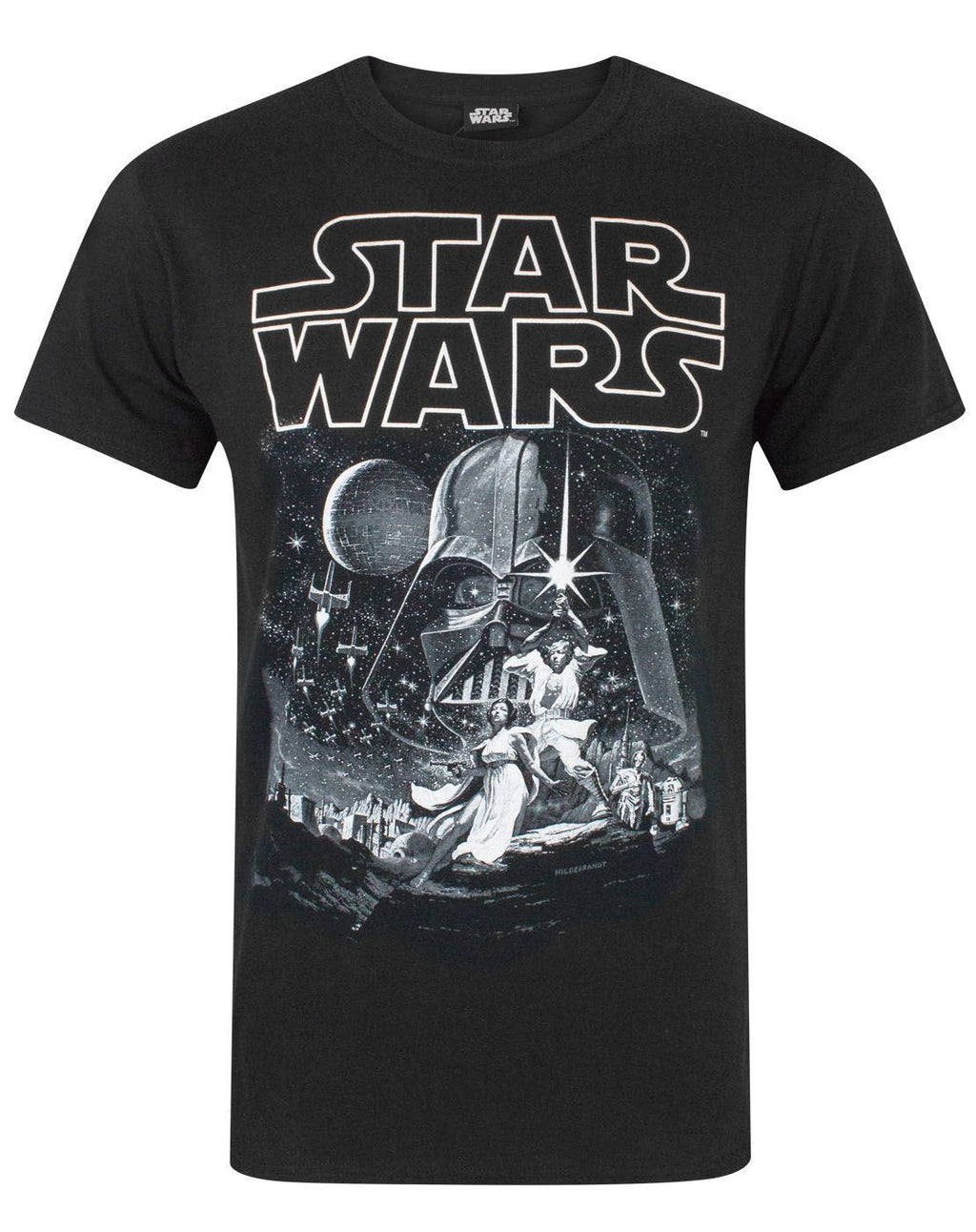 Star Wars A New Hope Poster Men's T-Shirt