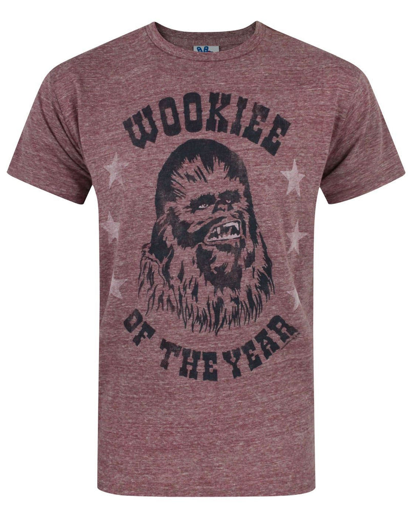 Junk Food Star Wars Wookie Of The Year Men's T-Shirt