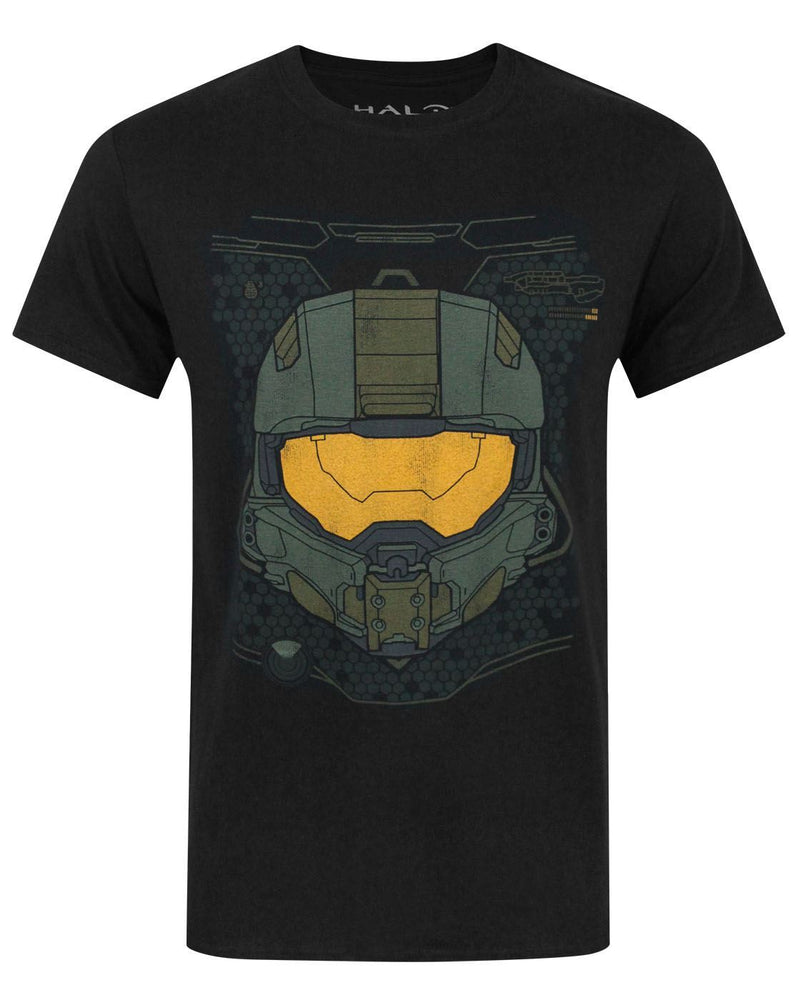 Halo 5 Master Chief HUD Helmet Men's T-Shirt