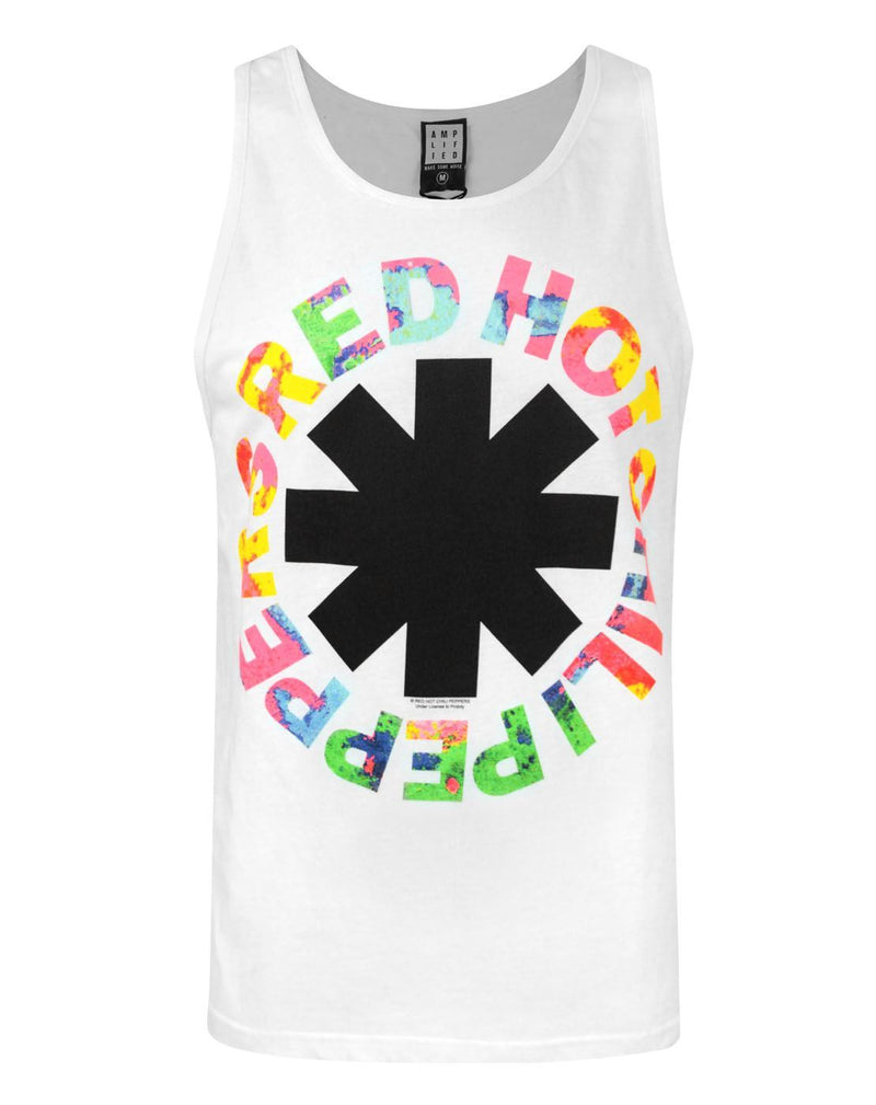 Amplified Red Hot Chili Peppers Hyper Logo Men's Vest