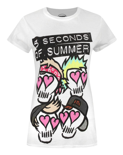 5 Seconds of Summer Skull Women's T-Shirt