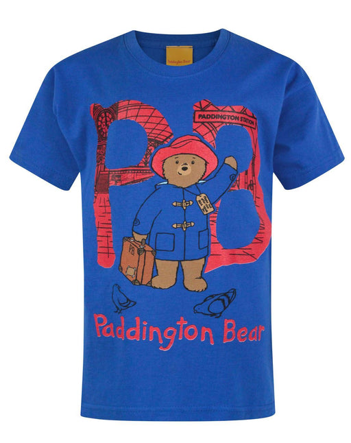 Paddington Bear PB Blue Boy's T-Shirt