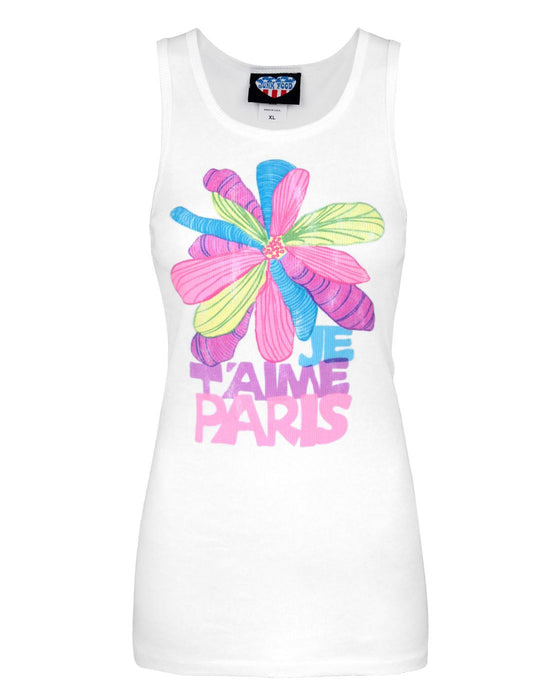 Junk Food Je T'Aime Paris Women's Vest