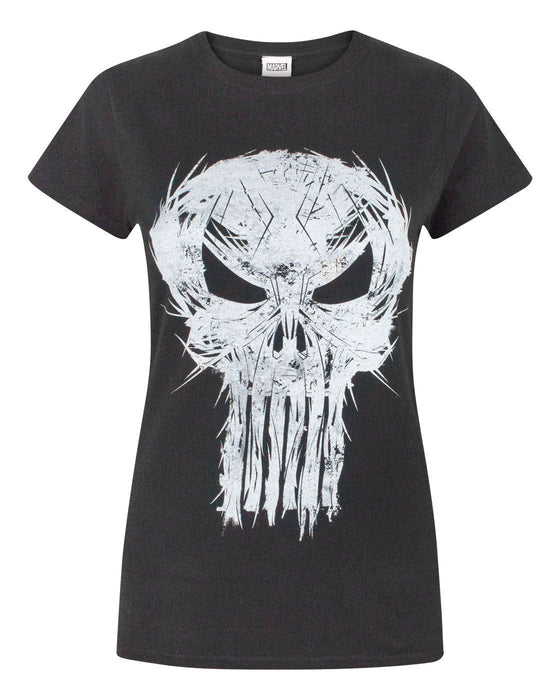 c7172b375 Marvel The Punisher Logo Women's T-Shirt — Vanilla Underground