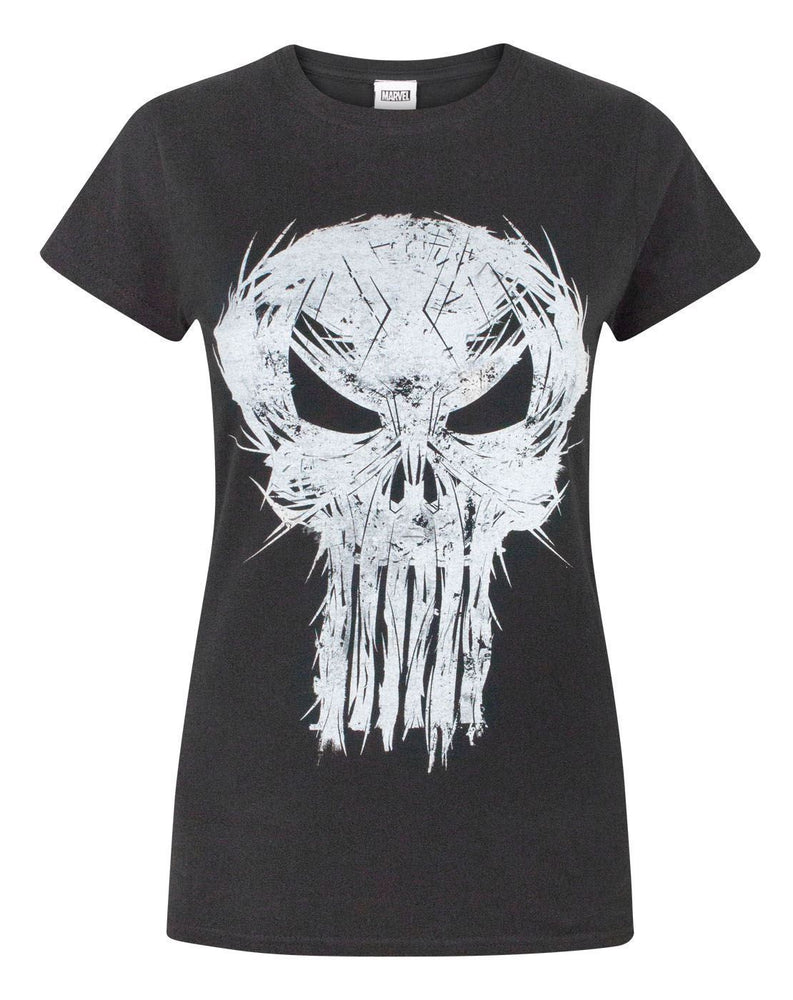 Marvel The Punisher Logo Women's T-Shirt