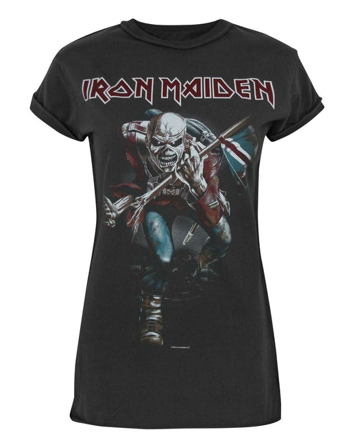 Amplified Iron Maiden Trooper 2 Women's T-Shirt