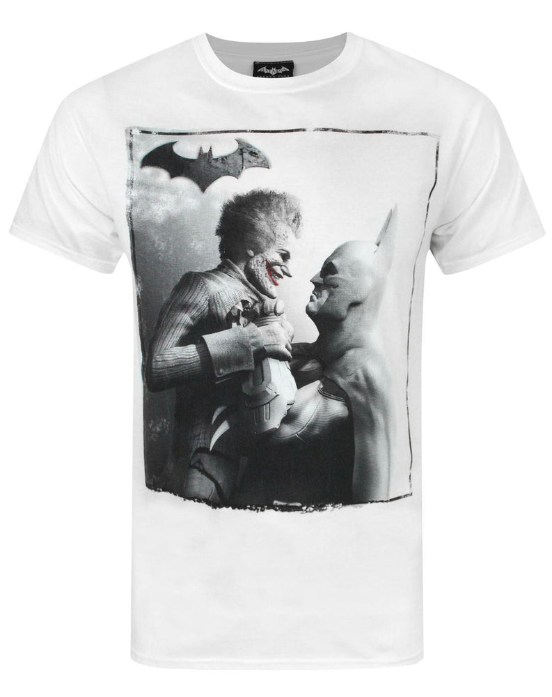 Arkham City Batman vs Joker Men's T-Shirt