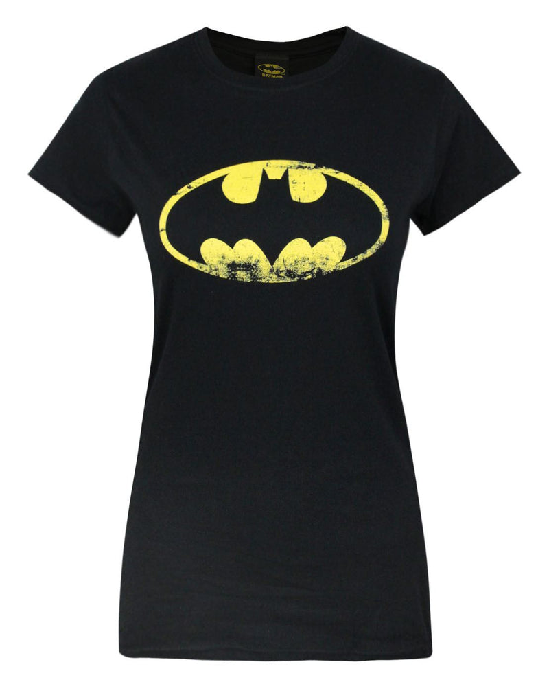 Batman Distressed Emblem Women's T-Shirt
