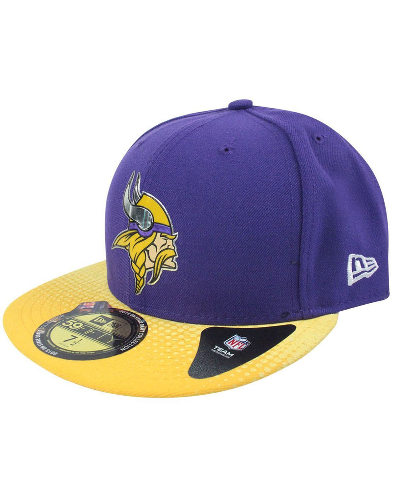 New Era 59Fifty NFL Minnesota Vikings Draft Cap 1a8fc71d2