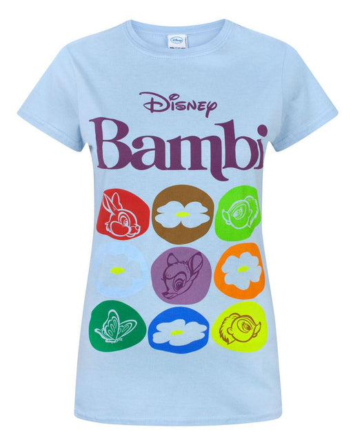 Disney Bambi Motif Women's T-Shirt