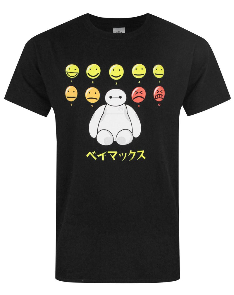 Big Hero 6 Baymax Pain Scale Men's T-Shirt