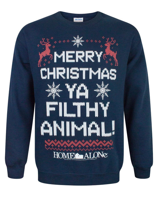 Home Alone Filthy Animal Christmas Sweatshirt