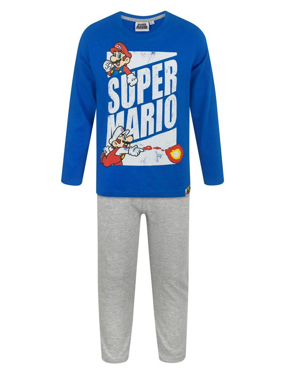 Super Mario Fire Ball Boy's Pyjamas
