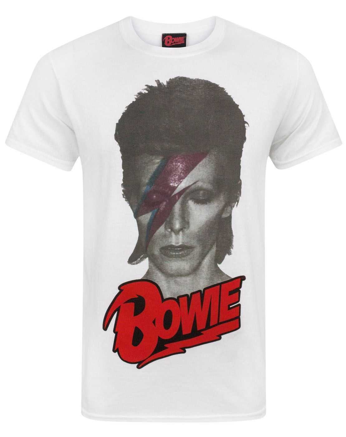 NEW OFFICIAL Aladdin Sane 2-Sided, All Sizes DAVID BOWIE Bowie Is T-SHIRT