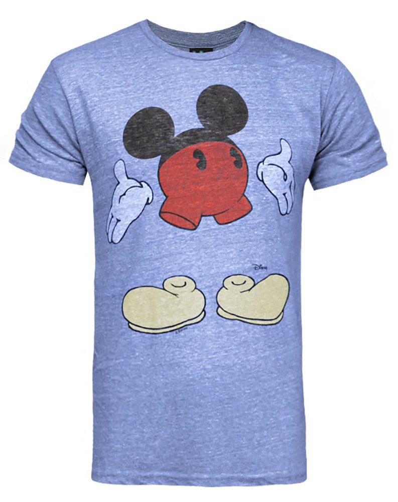 Junk Food Disney Mickey Mouse Bottoms Up Men's T-Shirt