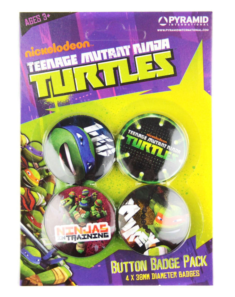 Teenage Mutant Ninja Turtles Badges