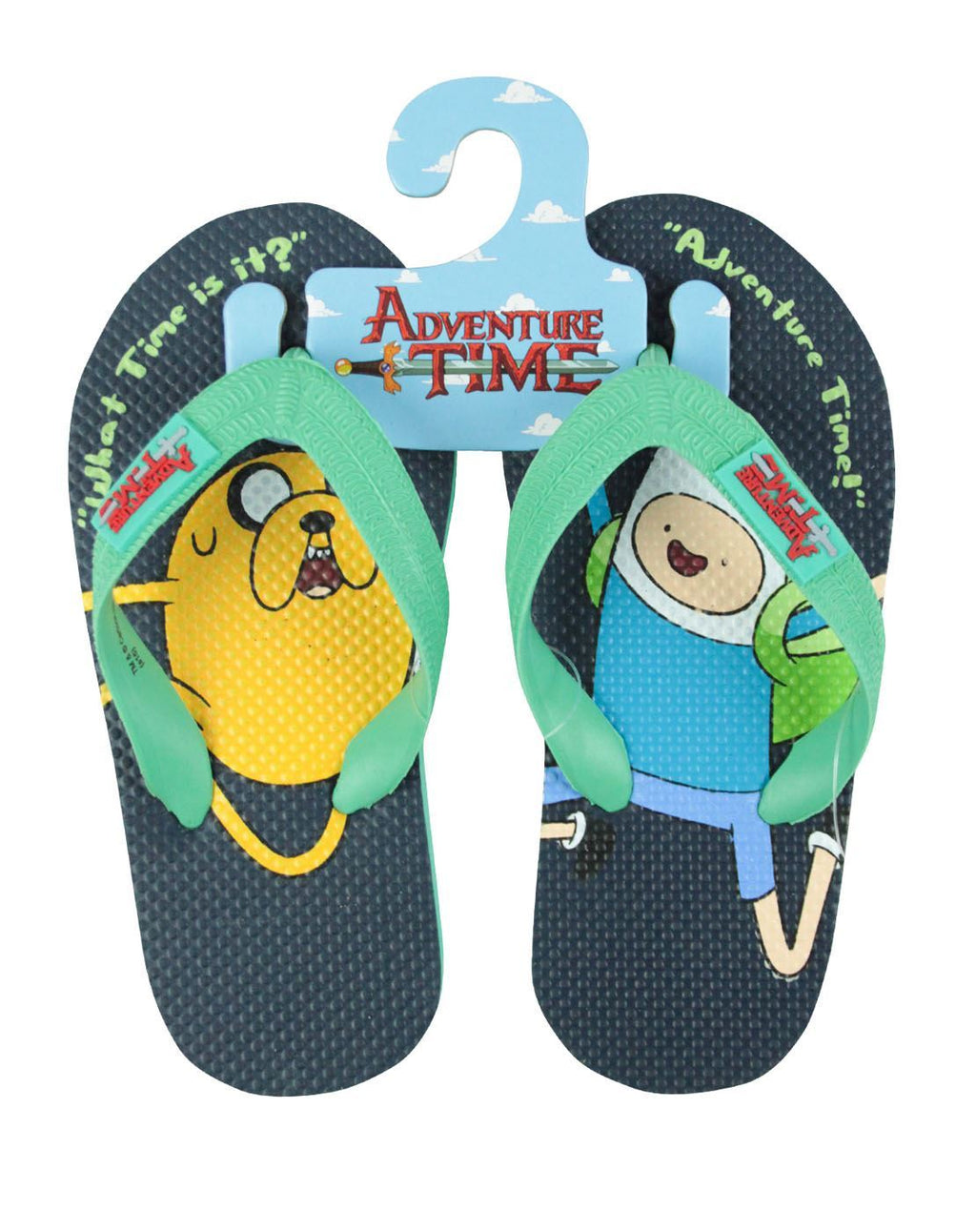 Adventure Time Finn And Jake Kid's Flip Flops
