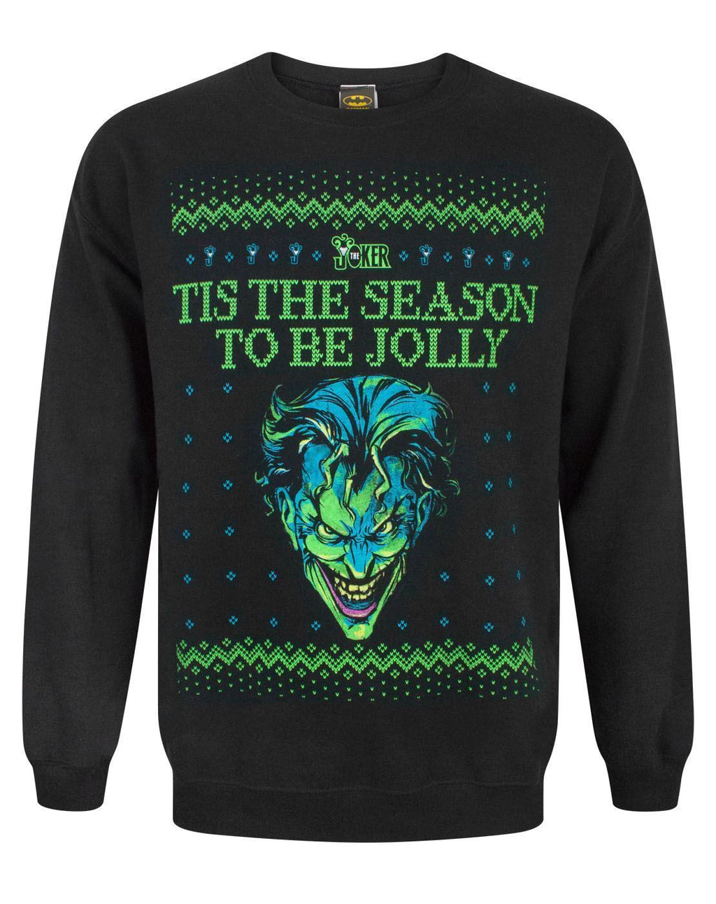 DC Comics Batman Joker Christmas Sweatshirt