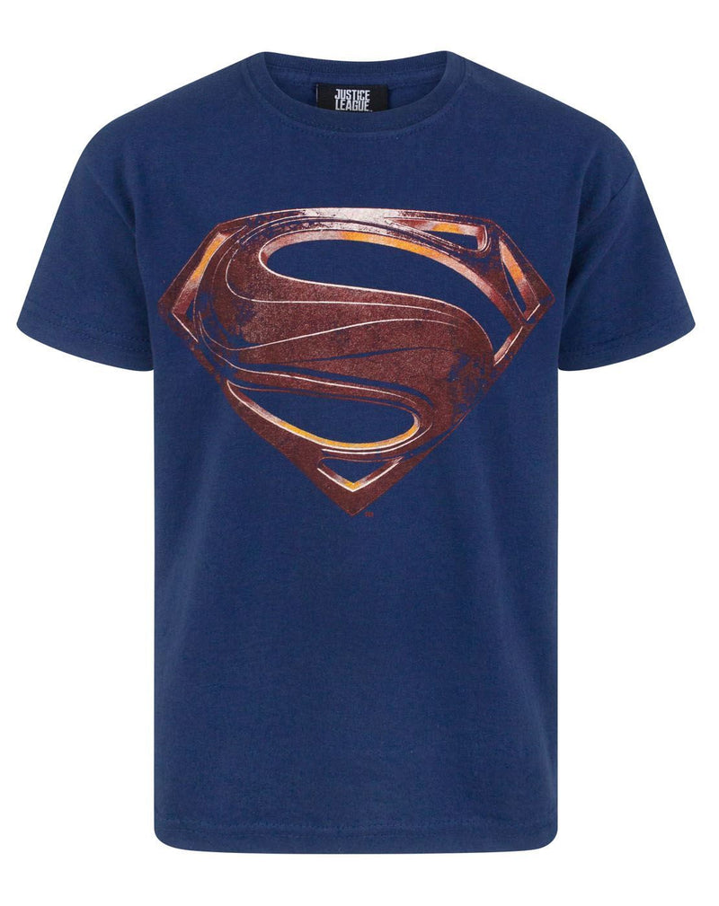 Justice League Superman Logo Boy's T-Shirt