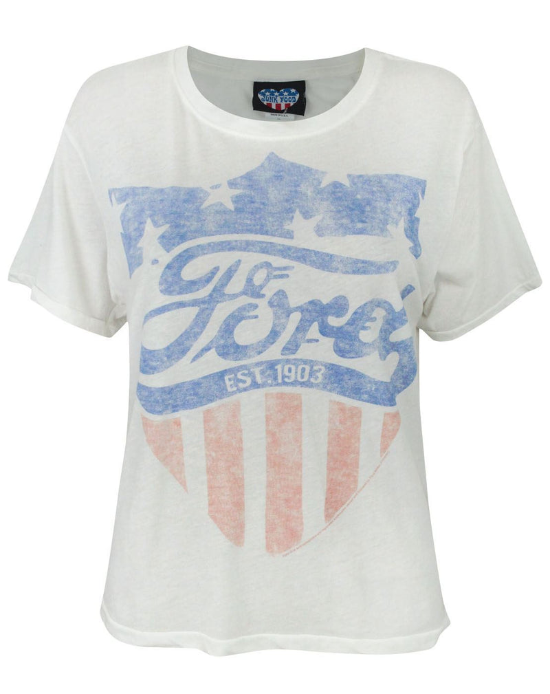 Junk Food Ford All American Girl Women's T-Shirt