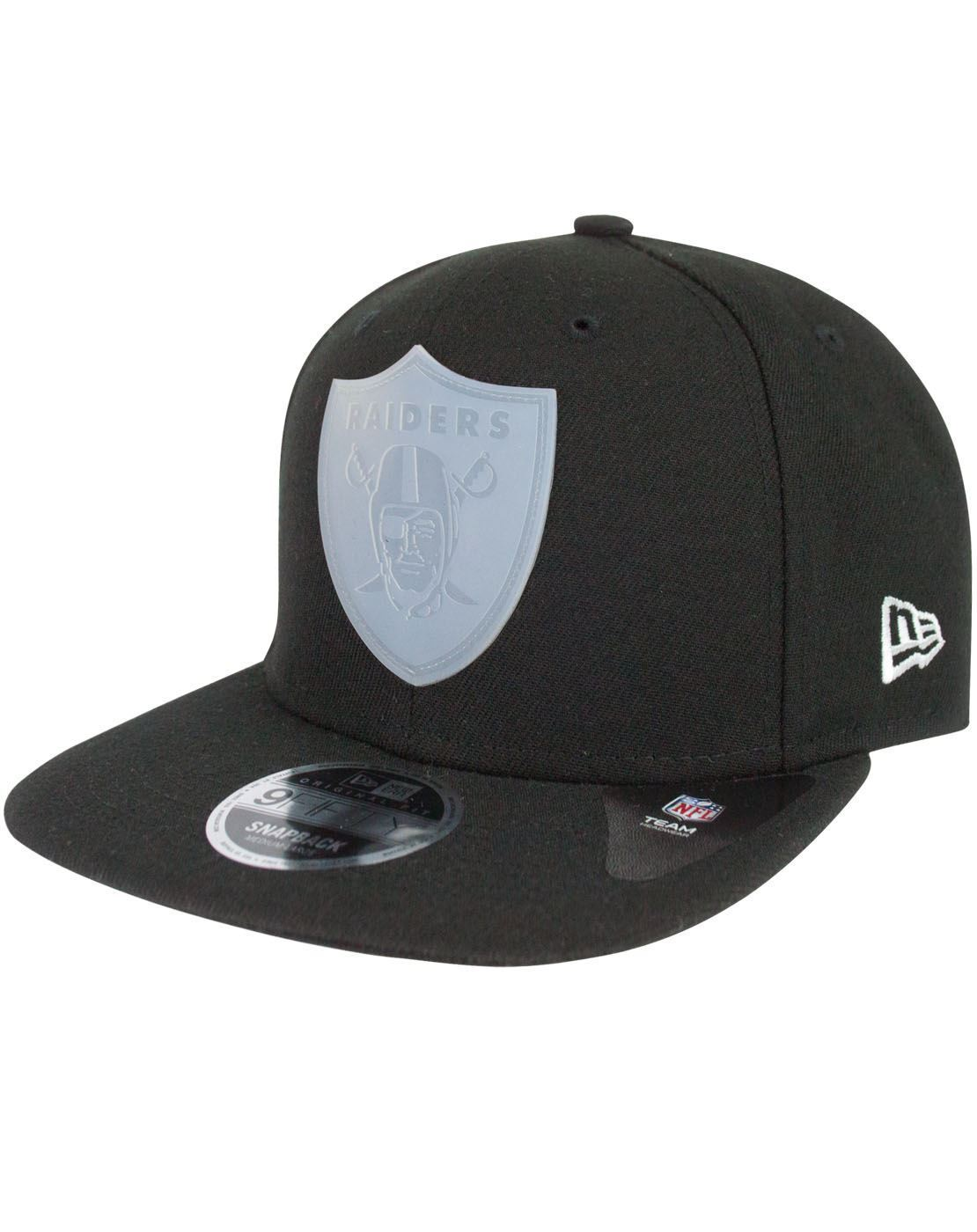 2bd5433d866 New Era 9Fifty NFL Oakland Raiders Transparent Logo Snapback Cap – Vanilla  Underground