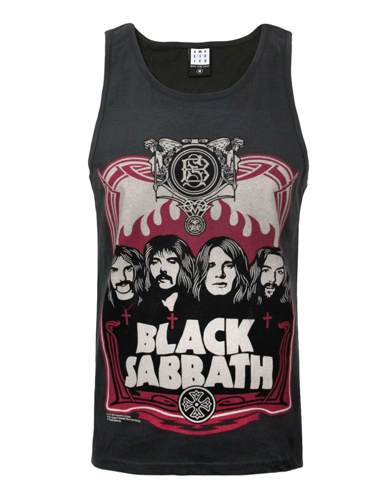 Amplified Black Sabbath Poster Men's Vest