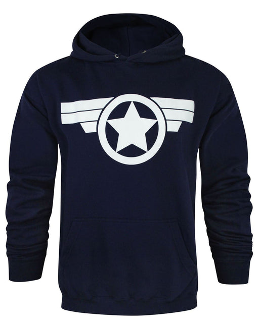 Captain America Super Soldier Men's Hoodie