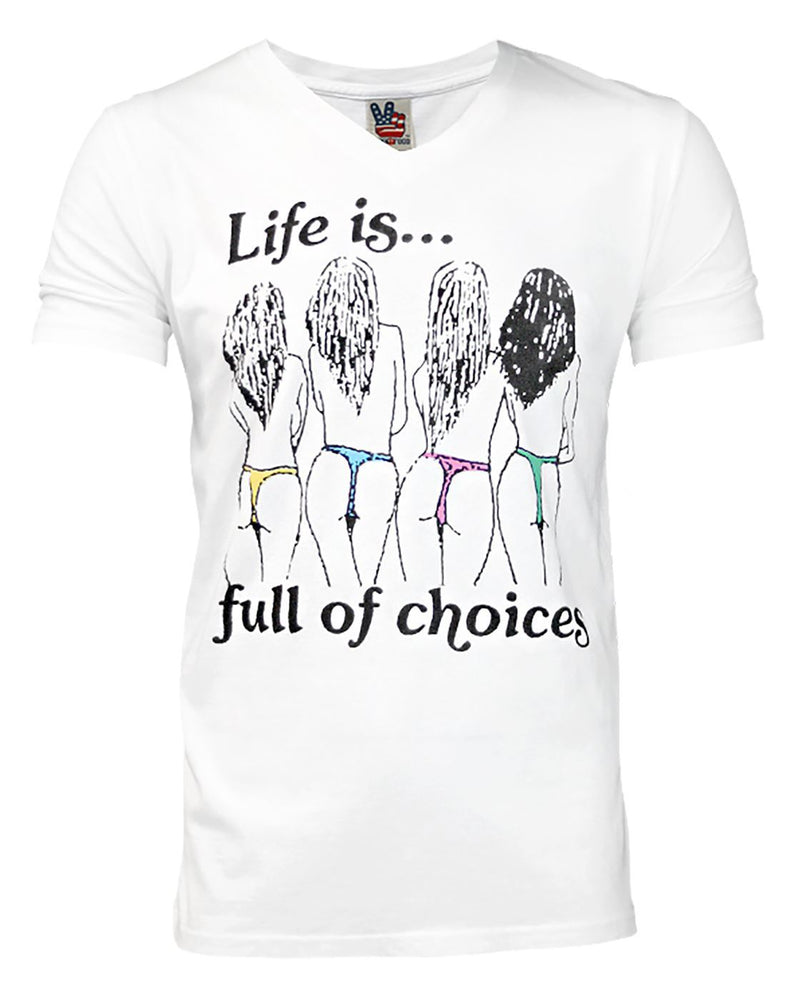 Junk Food Life Is Full Of Choices Men's T-Shirt