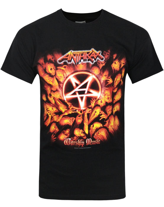 Anthrax Worship Music Men's T-Shirt