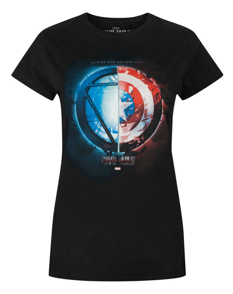 Captain America Civil War Whose Side Women's T-Shirt