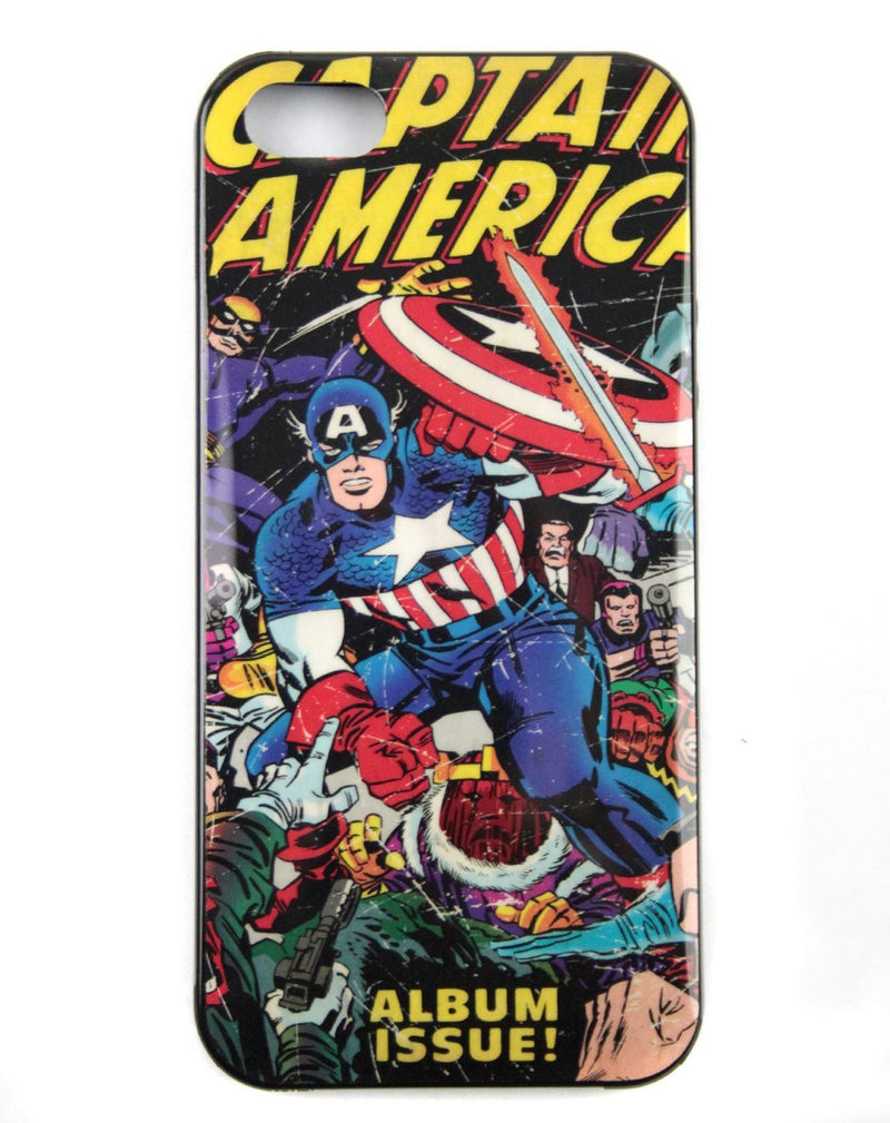 Marvel Captain America Retro Comic iPhone Case