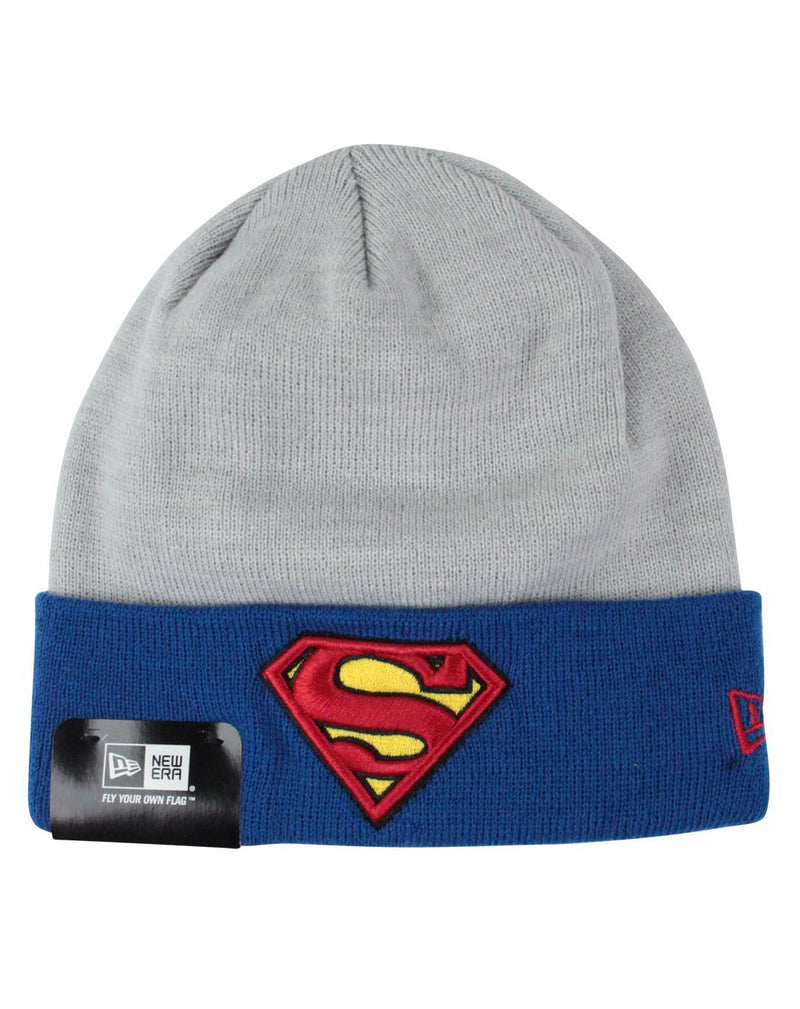 New Era Superman Heather Crown Knit Hat