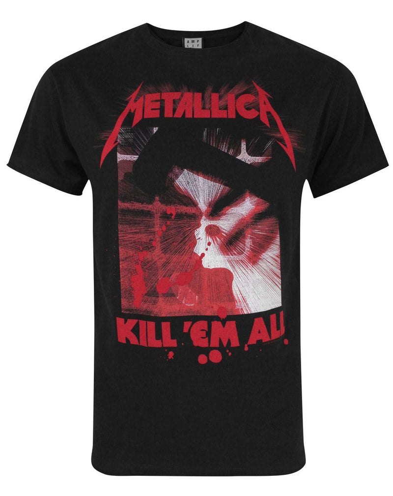 Amplified Metallica Kill Them All Men's T-Shirt