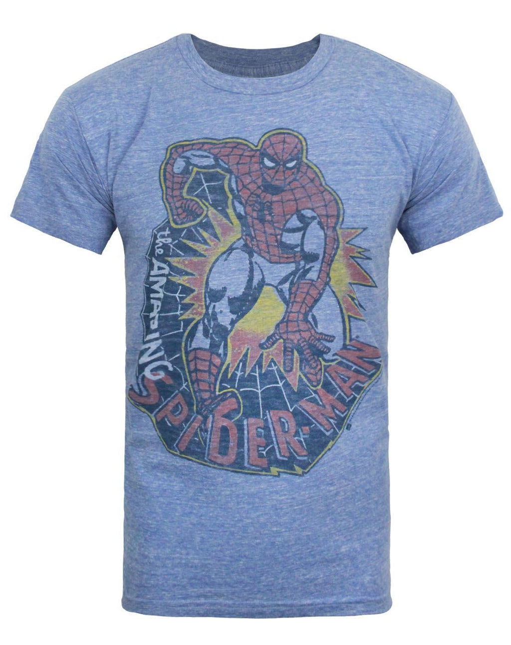 Junk Food Amazing Spider-Man Web Men's T-Shirt