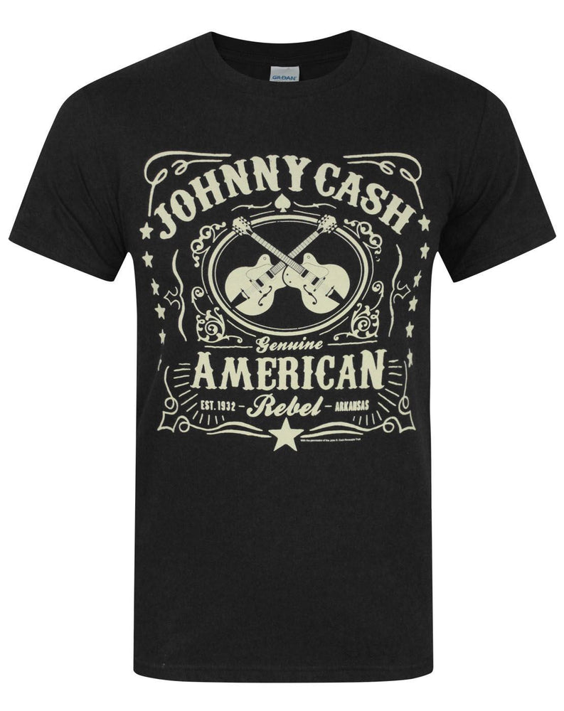 Johnny Cash American Rebel Men's T-Shirt