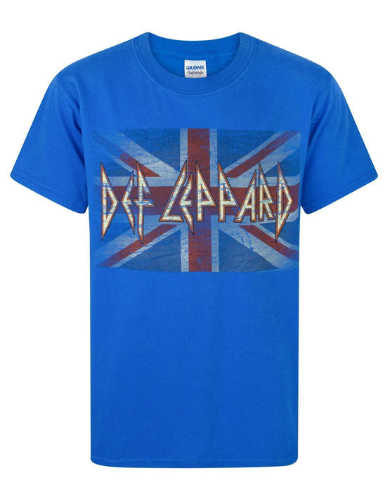 Def Leppard Union Flag Logo Boy's T-Shirt