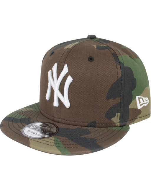 New Era 9Fifty MLB Woodland Camo League Essential New York Yankees Snapback Cap
