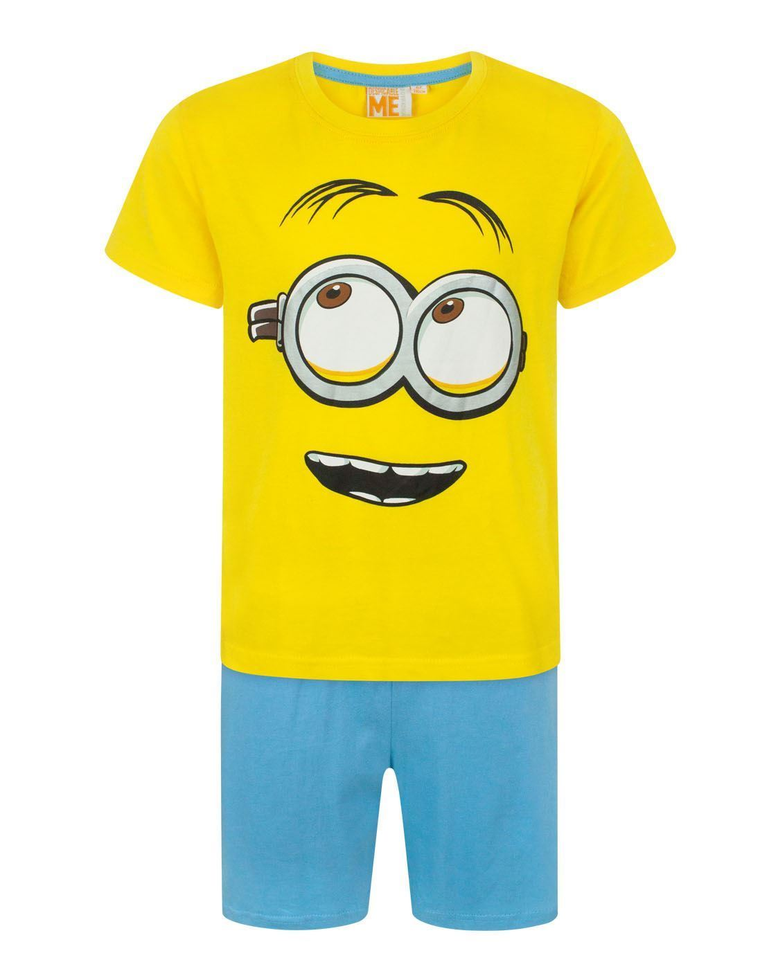 Despicable Me Minion Face Boy s Pyjamas – Vanilla Underground f687a03c1
