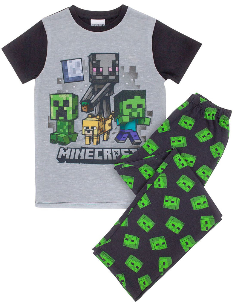 Minecraft Zombie Boy's Pyjamas