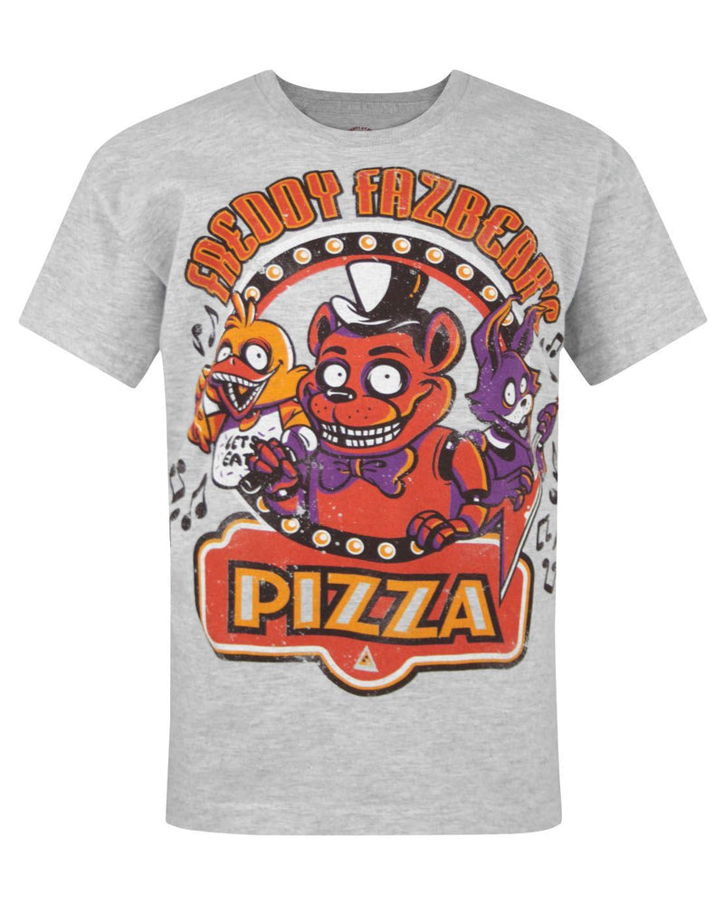 Five Nights At Freddy's Grey Kids T-Shirt